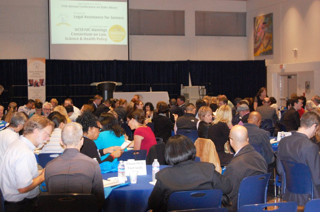 audience at the 2016 Elder Abuse Conference