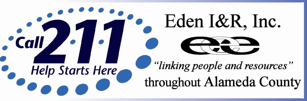Eden I&R