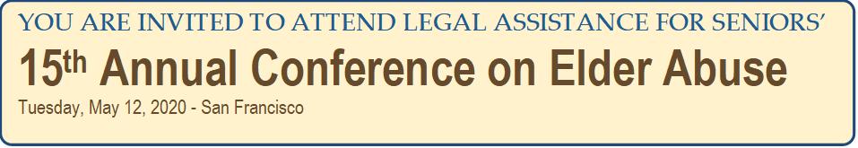Elder Abuse Conference 2020
